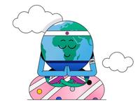 Globi: Mascot Design for Amsterdam Airport Schiphol