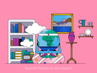 Globi: Special Places on the Airport
