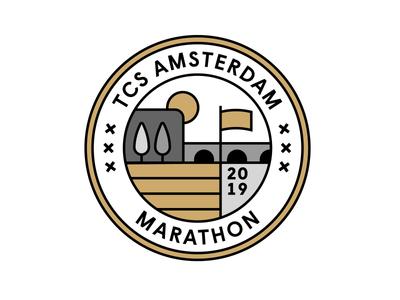 Mizuno Merchandise for TCS Amsterdam Marathon graphic design sports brand logo design icon design illustrator type illustrated illustration graphics designs merchandise waveultima reachbeyond thisrunamsterdam running mizuno rijksmuseum amsterdammarathon tcsam19
