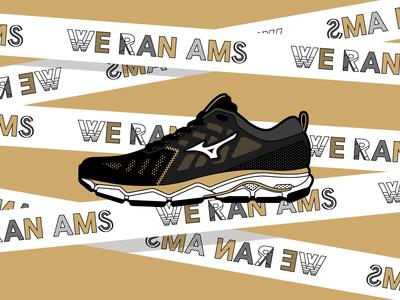 Mizuno Merchandise for TCS Amsterdam Marathon