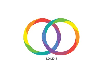 Marriage Equality  gay rings rainbow marriage equality