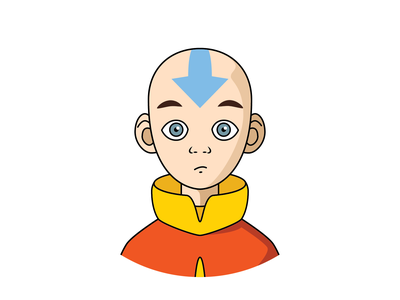 Avatar Aang illustration character avatars aang airbender last the avatar