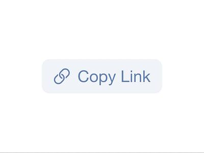 Copy Link Animation link copy motion interaction ui code details css animation animation codepen button