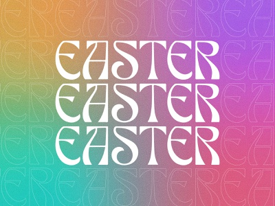 Easter 2021 ministry logo ministry design church design church easter rainbow gradient gradient easter gradient easter rainbow easter design easter 2021 jesus is risen jesus has risen he is risen christian easter easter jesus easter logo easter