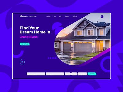 Real Estate Agency Website Design interface design ui design modern bold real estate inspiration design inspiration graphic design ui website design web ux ux design design