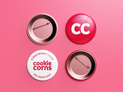 Cookie Corns Team Pins