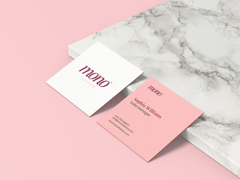 Mono Fashion Business Card