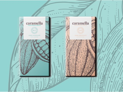 Caramella Chocolate Packaging Design