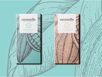 Caramella Chocolate Packaging Design
