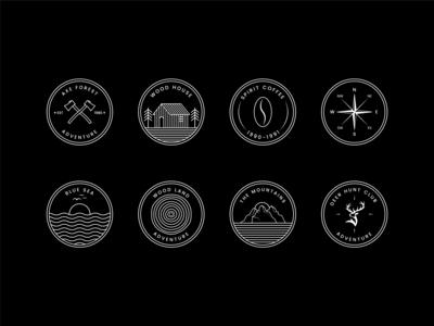 Badge Logos Collection
