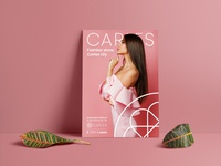 CARLES Model Fashion poster's
