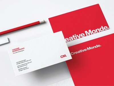 Creative Monde's Business Cad