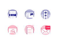 Icon set for Health & Safety Software