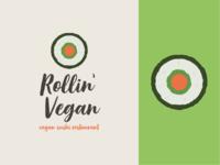Rollin' Vegan (Logo)