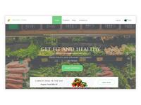 Organic Landing Page