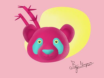 Panda panda design vector branding affinitydesigner illustraion minimal illustrator procreate illustration graphicdesign