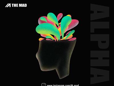 The mad -  startup illustration illustraion logo branding design affinitydesigner vector minimal illustrator procreate illustration graphicdesign