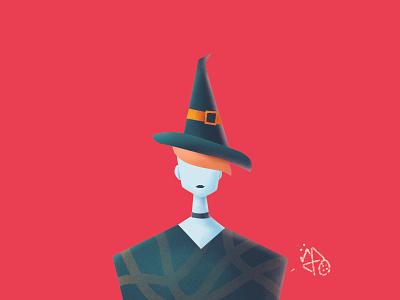 witch illustration procreate illustration affinitydesigner flat character adobe illustrator vector poster design halloween bash graphicdesign illustration art characterdesign witch illustration