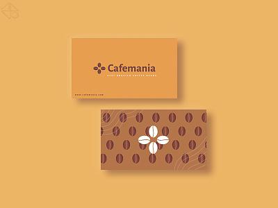 cafemania busines card design illustraion design branding minimal affinitydesigner vector illustrator procreate illustration graphicdesign