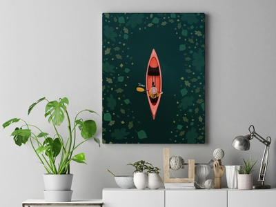 Boat illustration logo minimal flat vector design illustration art graphic design digitalart procreate illustator illustration