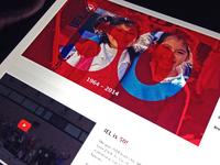 Anniversary Page