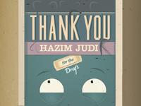 Thank You Hazim Judi