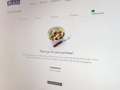 Success Page success commerce typography ui design website designing web