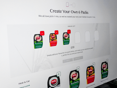 Create your own… checkout ux typography site package products ecommerce web