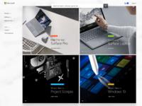 Microsoft redesign