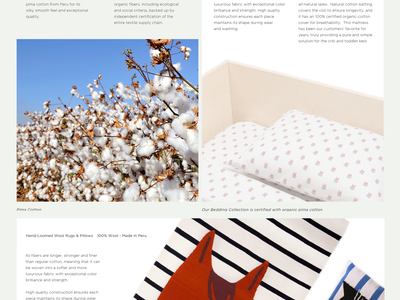 Where it's Made website ux ui typography shopping shop photography furniture ecommerce clean children cart