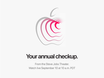 Apple Keynote Invite typography grid minimalistic simple clean apple keynote