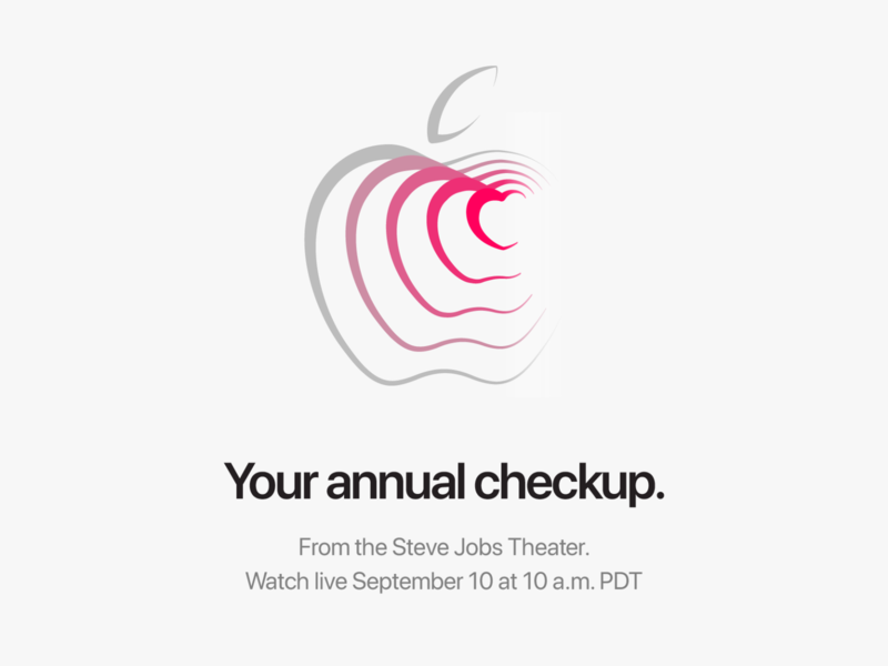 Apple Keynote Invite typography grid minimalistic simple clean apple keynote