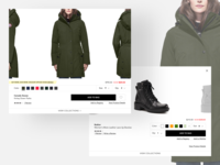 Bloomingdales - Quickview ux typography clean shopping quickview retail design ecommerce design ecommerce shop ecommerce