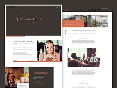UI design for law firm desktop design webdesign web lawyer law uidesign ui  ux