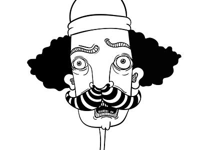 GERENA character design minimalism flat vector pattern gerena wacom monocromatic illustrator illustration draw digitaldraw design character art characer