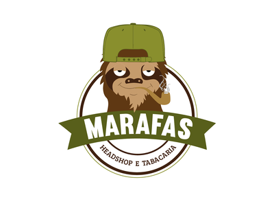 MARAFAS marafas logo design branding logodesign logo gerena wacom monocromatic illustrator illustration draw digitaldraw design character art characer