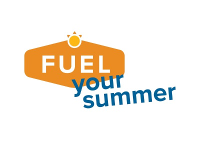 Fuel Your Summer illustration motiongraphics typography branding logo