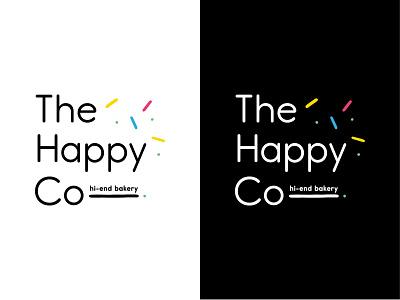 The Happy Co typography branding logo