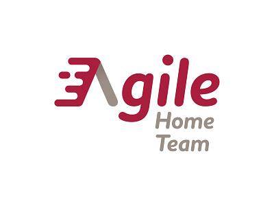 Agile Home Team branding typography wordmark logo