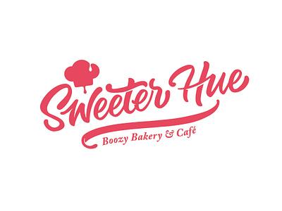 Sweeter Hue visual system typography branding logo