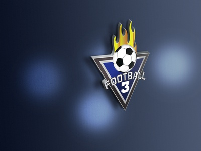 Football Club Logo typograpghy design foodlogo football logo club logo sport logo brandign logos logodesign logo