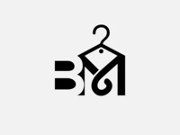 B & M cloth brand logo