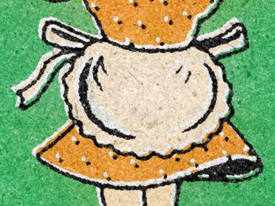 Vintage Skirt retrosupplyco retrosupply matchbook pola dot hem skirt retro vintage illustration vector design