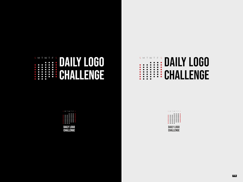 Daily Logo Challenge 11/50: Daily Logo Challenge logodlc calendar logo design logo design dailylogochallange affinity designer
