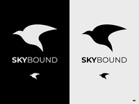 Daily Logo Challenge 12/50: Skybound airlines