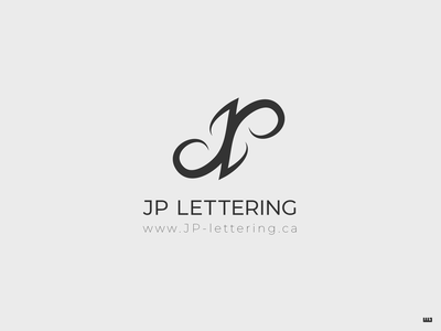 JP Lettering lettering art hand lettering initials lettering type typography logocore branding dailylogochallenge vector logo design logo design