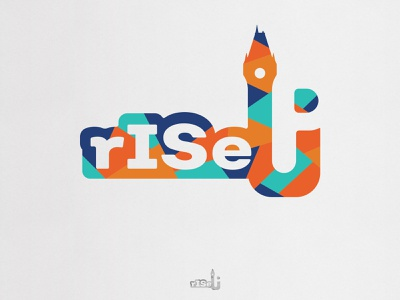 rISe Up - Iasi Capitala Tineretului din Romania - Logo logo design design minimalist vector rise up iasi romania logodesign logo
