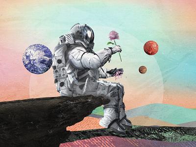 Man on the Moon design