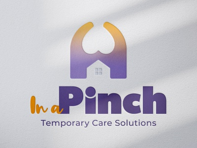 In a Pinch Logo branding logo design