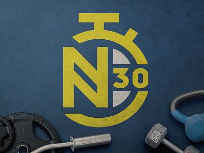 N30 Fitness App icon app logo branding design ui